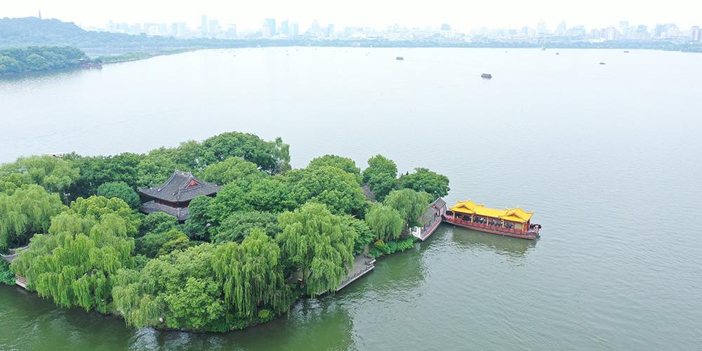 Fotos: paisagem do Lago Oeste em Hangzhou