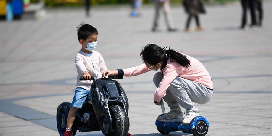 Distritos na cidade de Jilin, no nordeste da China, são classificados como áreas de baixo risco da COVID-19