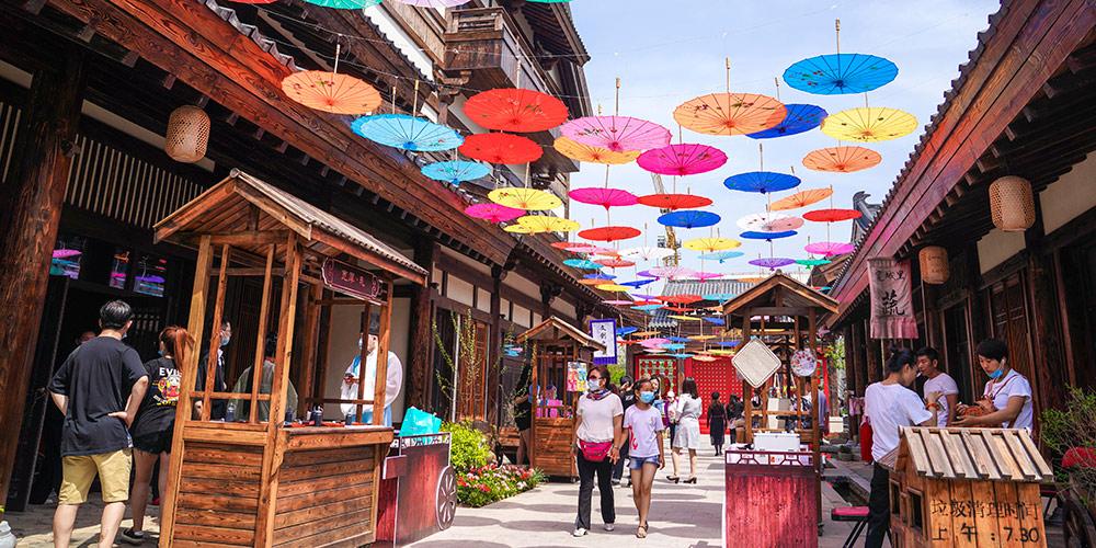 Festival de verão de Lianhuashan em Changchun apresenta diversas atividades