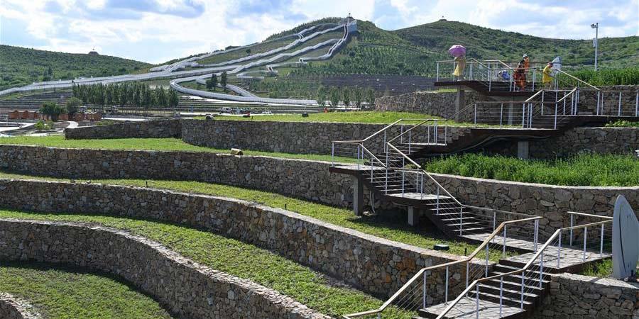 Restauração ecológica da montanha Tianjun estimula turismo local