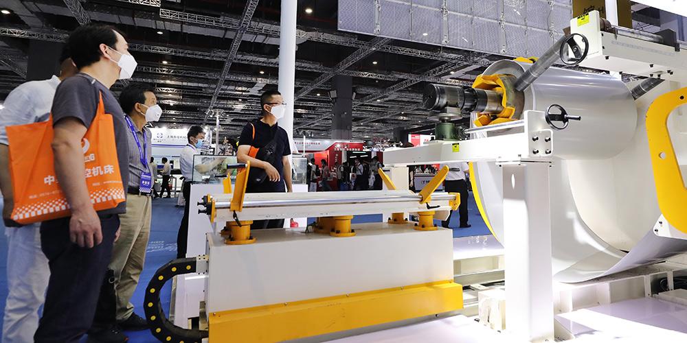 Feira de Ferramentas-Máquinas é aberta em Shanghai