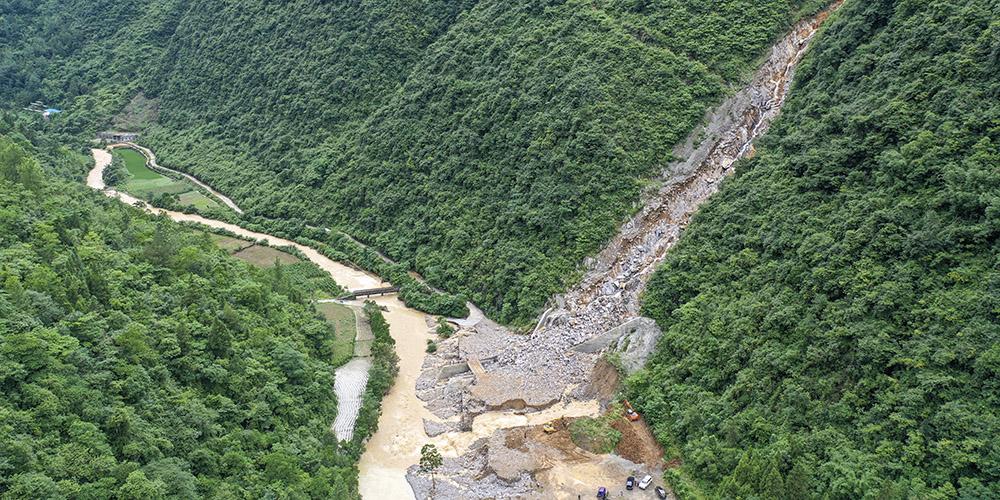 Fortes chuvas atingem Chongqing, sudoeste da China