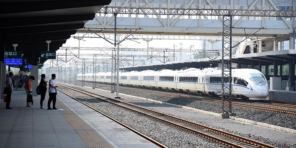 Rede ferroviária da China registrará aumento de viagens de passageiros