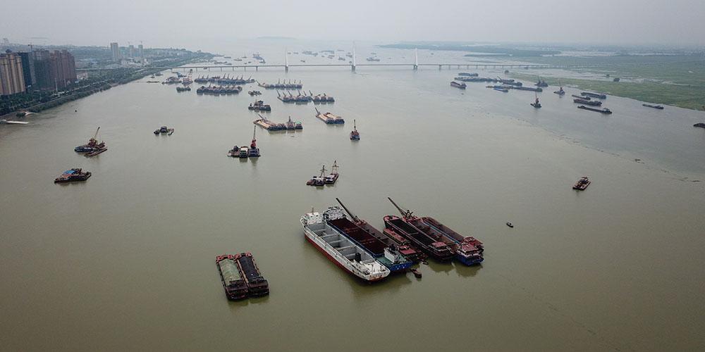 Nível do lago Dongting sobe com chuvas persistentes