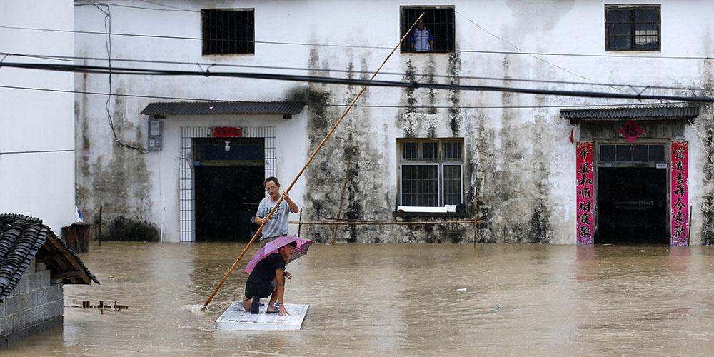 Regiões chinesas elevam nível de resposta a inudações