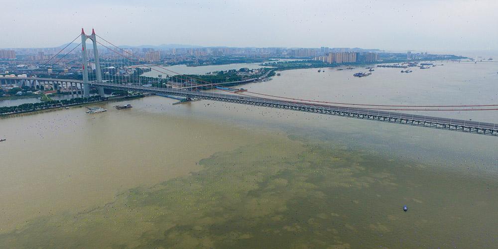 Águas do lago Dongting atingem nível crítico