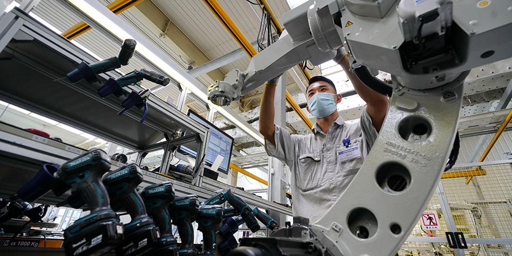 Fotos: indústria de soldagem em Tangshan, norte da China
