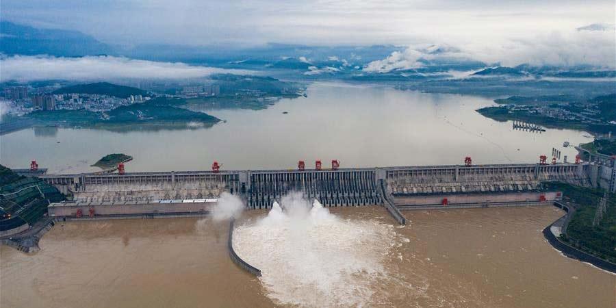 Rio Yangtzé da China registra segunda cheia do ano
