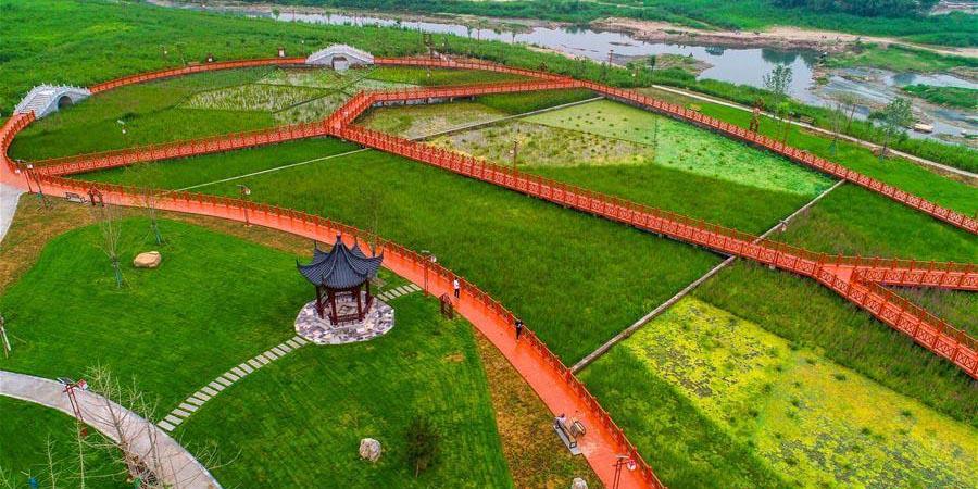 Primeira fase do projeto da vila ribeira de Shuguang é aberta ao público