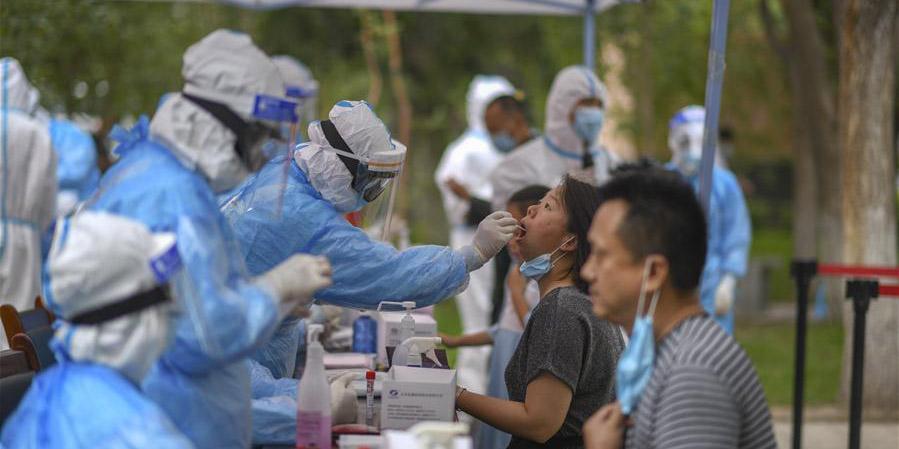 Urumqi realiza testes da COVID-19 em toda a cidade