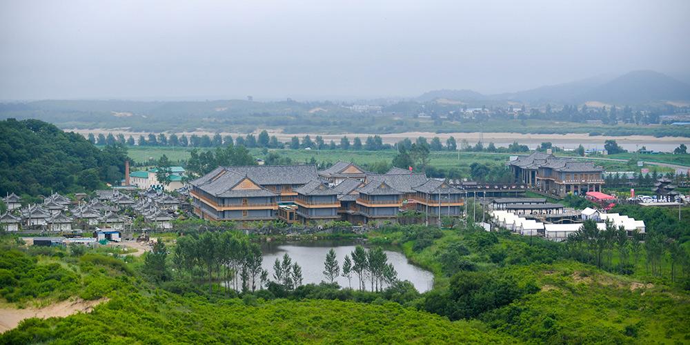 Vila fronteiriça na província de Jilin se transforma em atração turística