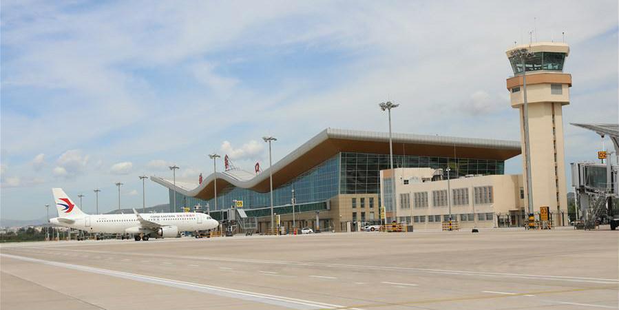 Aeroporto expandido de Zhangjiakou Ningyuan entra em operação