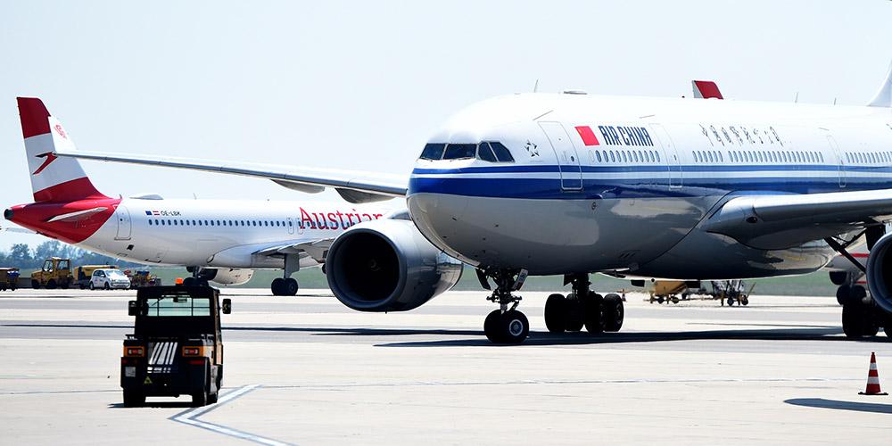 Air China retoma voo direto entre Beijing e Viena