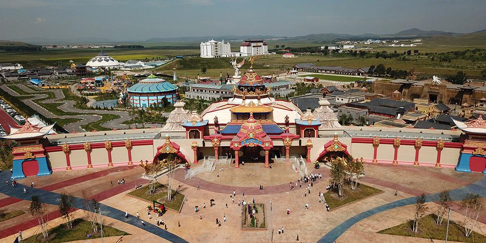 Área de Bashang em Fengning promove turismo para aumentar renda de moradores