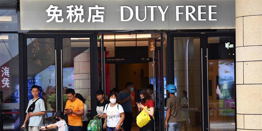 Hainan relata aumento de compras em free shops