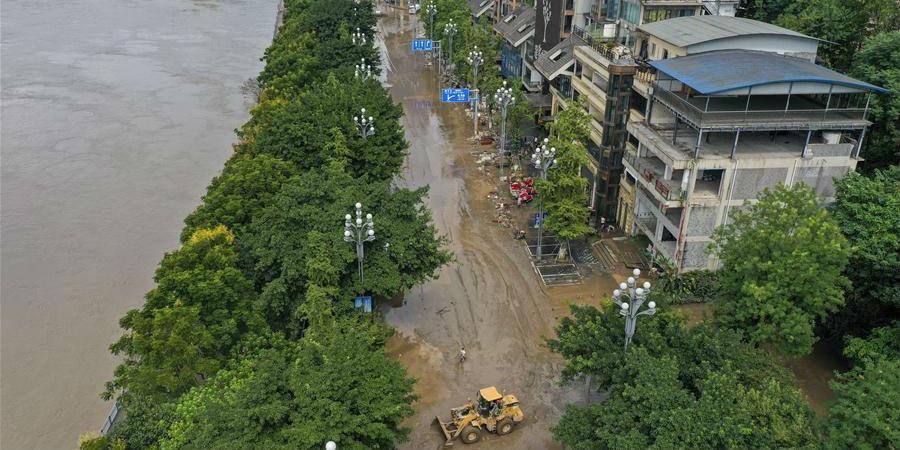 Inundações raras que atingiram Chongqing começam a retroceder