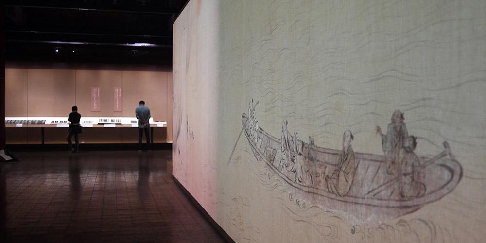 Museu do Palácio realiza exposição das obras de caligrafia e pintura de Su Shi