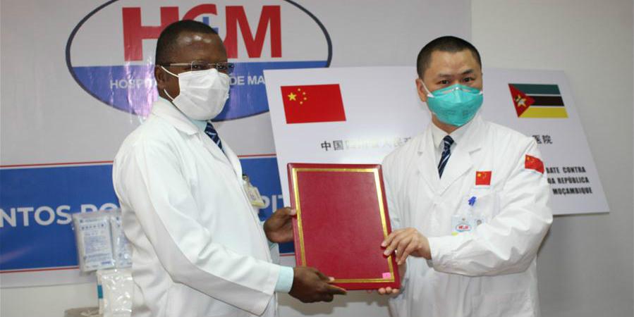 Província de Sichuan doa suprimentos médicos a Moçambique para prevenção da COVID-19