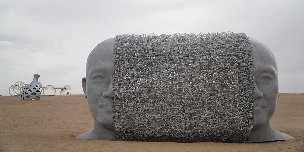 3º Acampamento de Criação Internacional de Esculturas em Deserto começa em Gansu