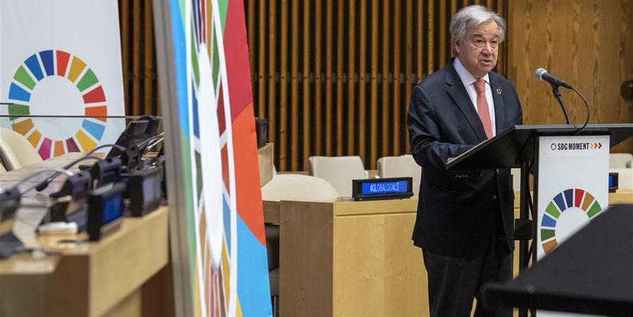 Chefe da ONU pede determinação política para Objetivos de Desenvolvimento Sustentável
