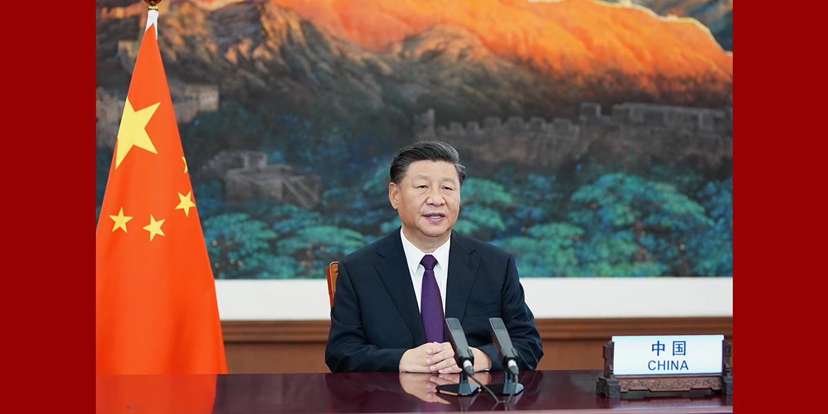 """Enfoque: Xi explica papel da ONU na era pós-COVID e se opõe ao unilateralismo e """"chefe do mundo"""""""