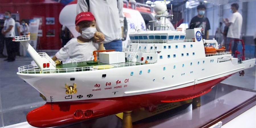 Exposição Marítima da Ásia Oriental 2020 é inaugurada em Qingdao