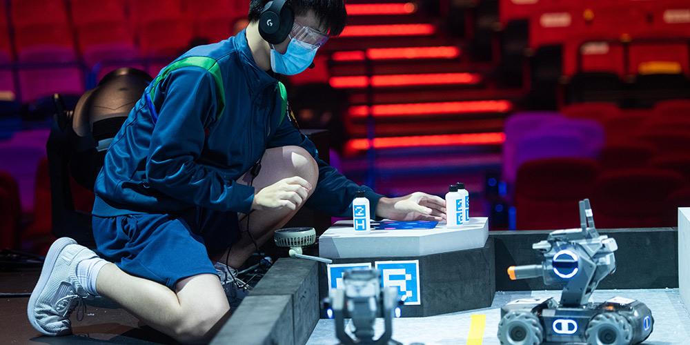 Competição de robótica RoboMaster 2020 começa em Macau
