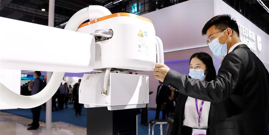 Feira Internacional de Equipamentos Médicos da China começa em Shanghai
