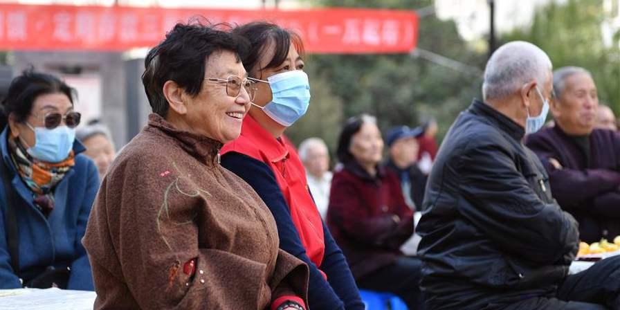 Xi'an realiza evento para saudar o próximo Dia do Idoso