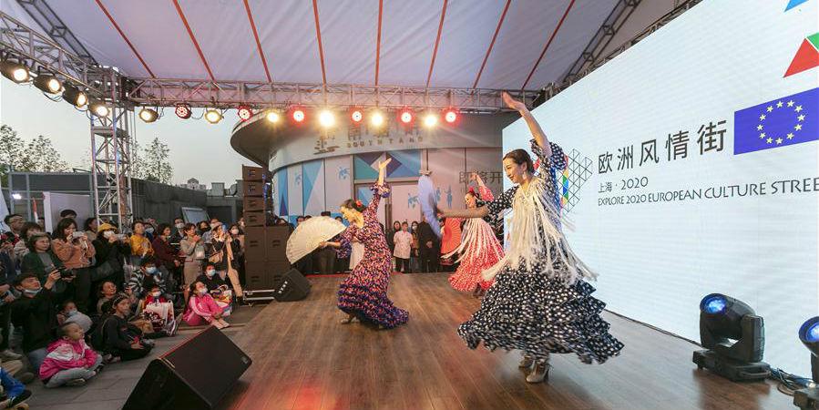 """Evento """"Rua da Cultura Europeia"""" é realizado em Shanghai"""