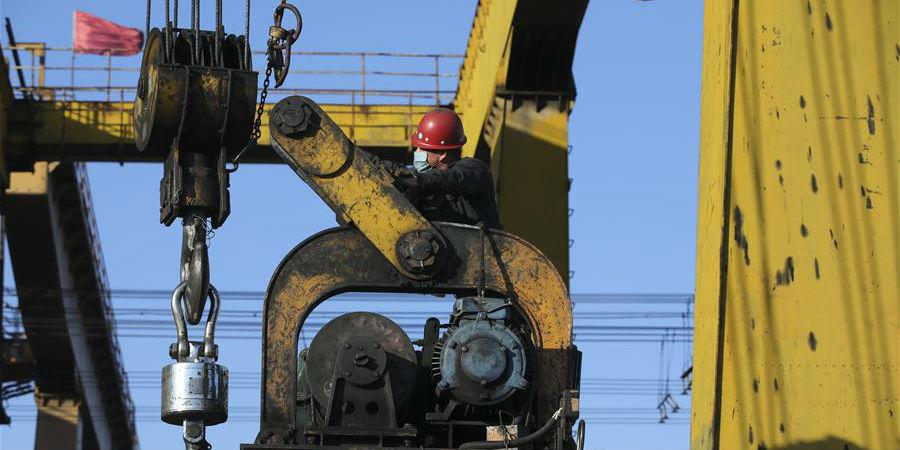 Volume de movimentação anual de cargas do Porto Ferroviário de Suifenhe aumenta 64%
