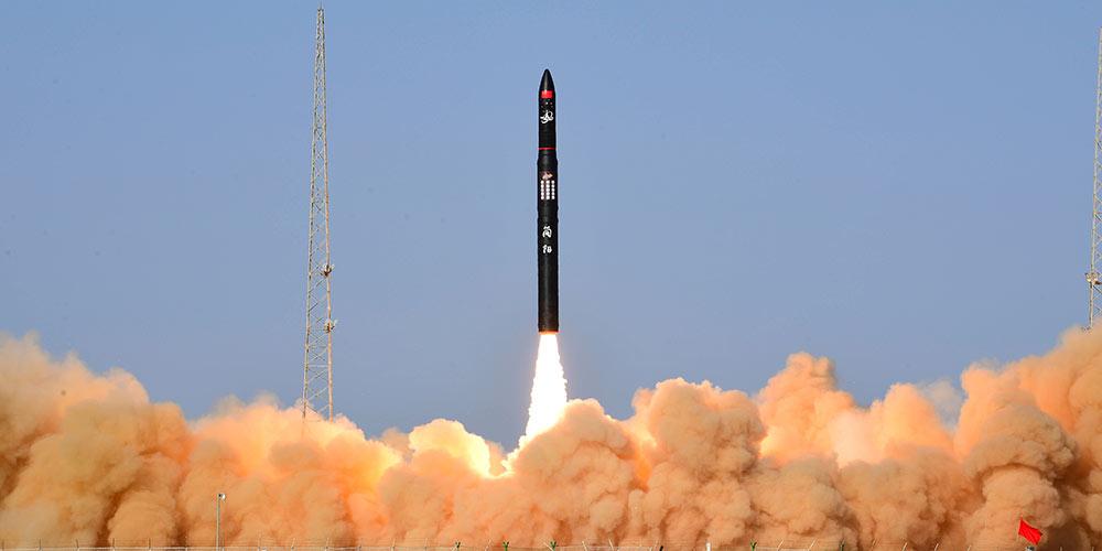Foguete comericial da China CERES-1 completa voo inaugural com sucesso