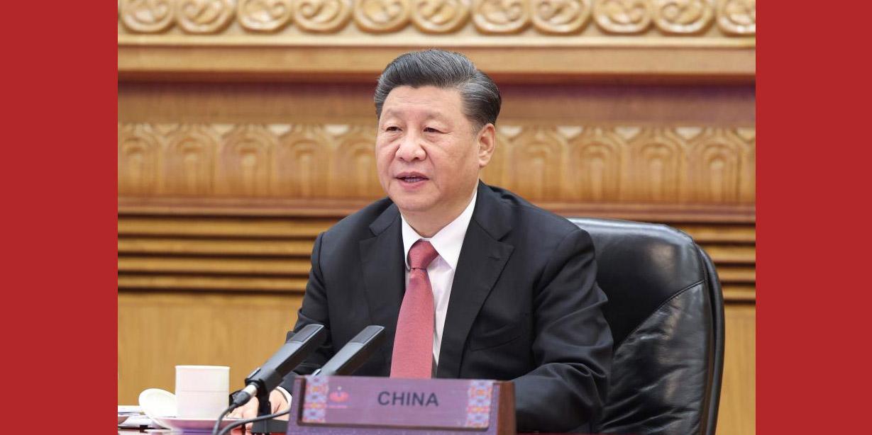 Xi discursa na Reunião de Líderes Econômicos da APEC