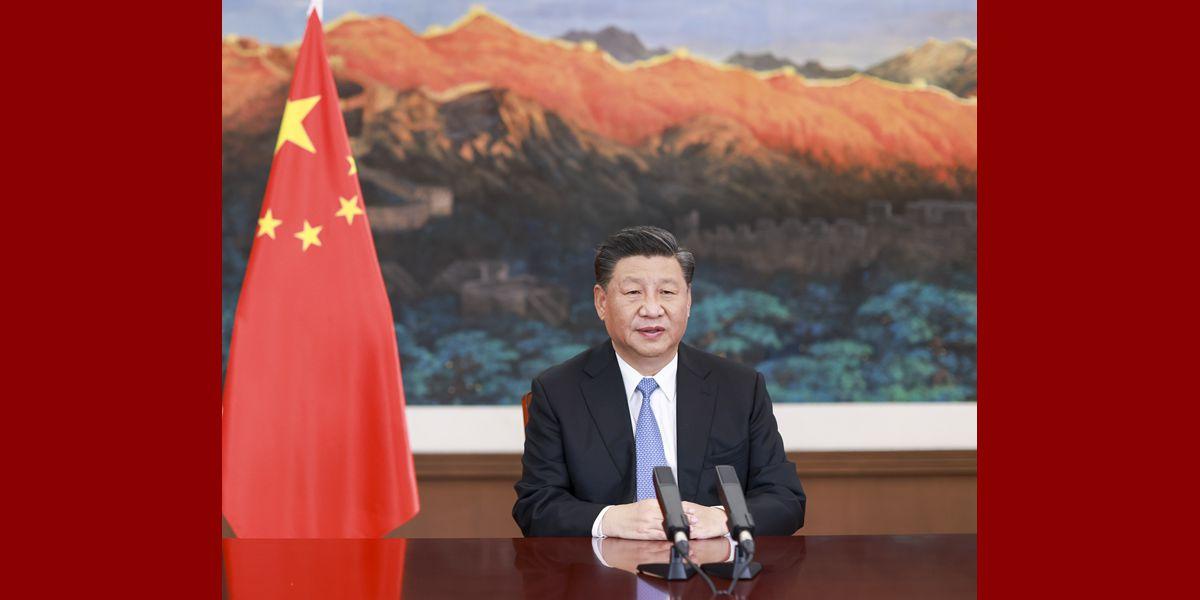Xi pede esforços do G20 para proteger planeta Terra