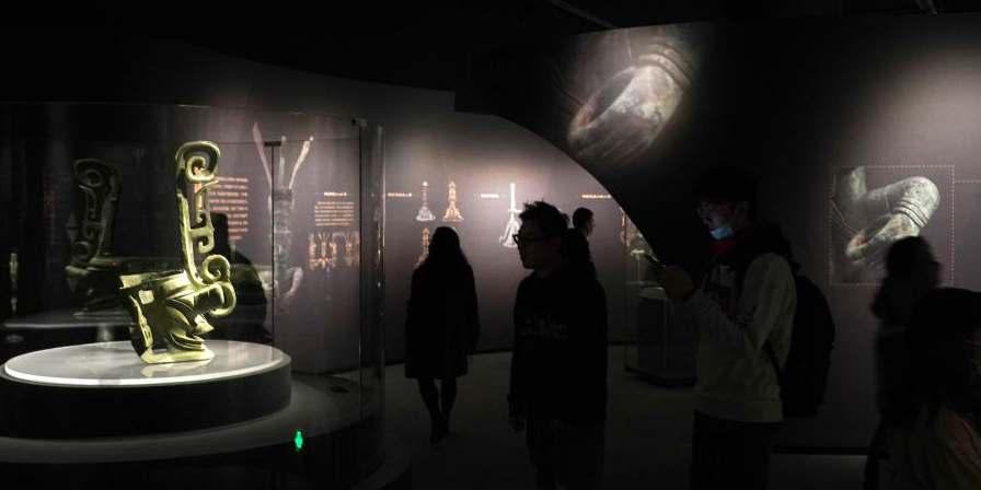 Shanghai realiza exposição especial sobre ruínas pré-históricas de Sanxingdui