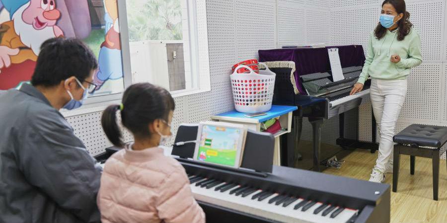 Centro de atividades juvenis fornece aulas de serviço público para crianças em Hainan