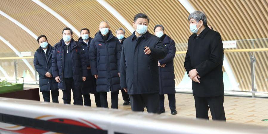Xi inspeciona zona de competição de Zhangjiakou para Olimpíadas de Inverno de Beijing 2022