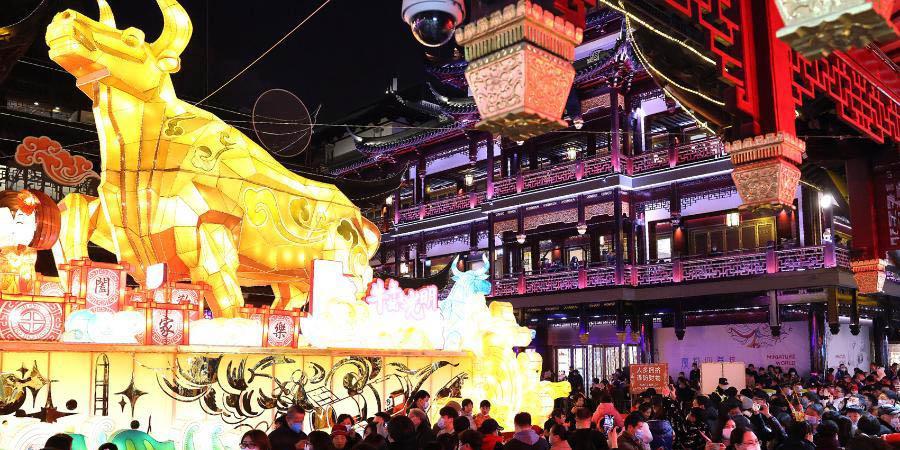 Shanghai registra mais de 4,92 milhões de turistas durante o feriado do Ano Novo Lunar