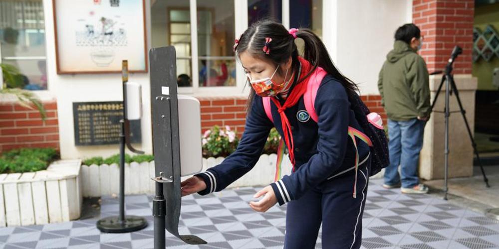 Começa o novo semestre letivo nas escolas de Shanghai