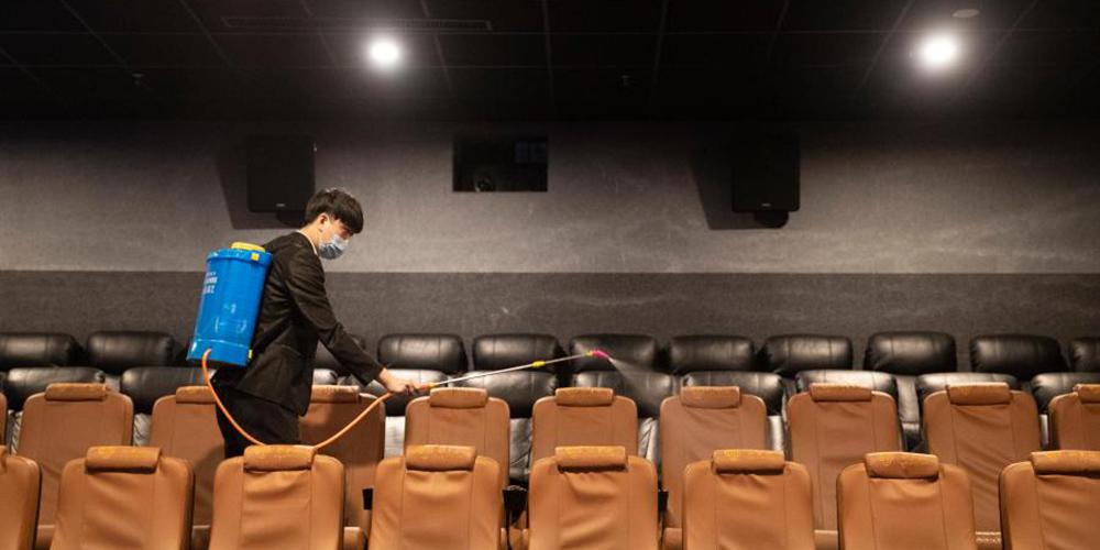 Cinemas reabrem na cidade de Harbin