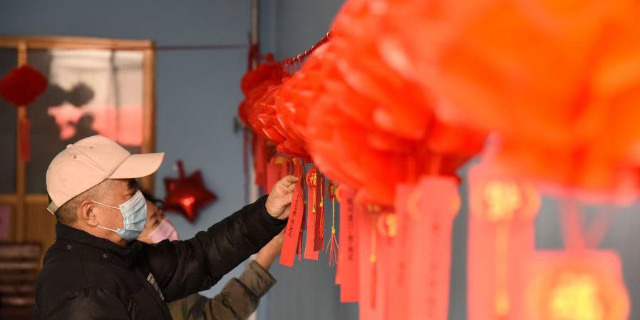 Chineses comemoram o próximo Festival das Lanternas
