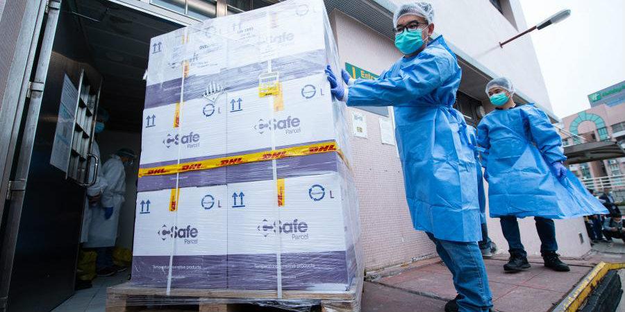 Primeiro lote de 100 mil doses de vacina alemã de RNA mensageiro chega a Macau