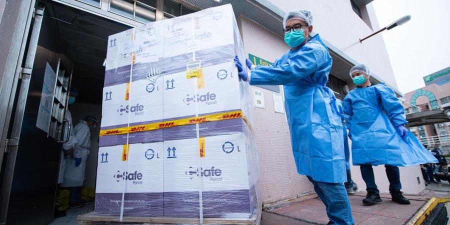 Parte continental fabrica e entrega a Macau segundo lote de vacinas contra COVID-19