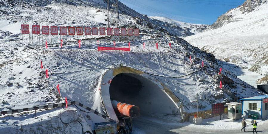 Concluída a escavação do Túnel Dongshan em Gansu com 3.850 metros de altitude média