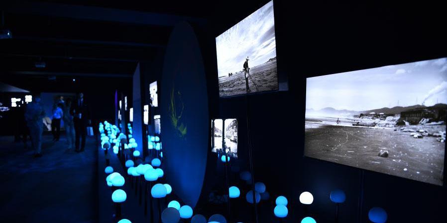 """Exposição de arte """"Oceano de Sonho -Composição do Espaço Ecológico"""" começa em Hainan"""