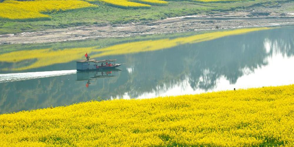 Paisagens de primavera na China