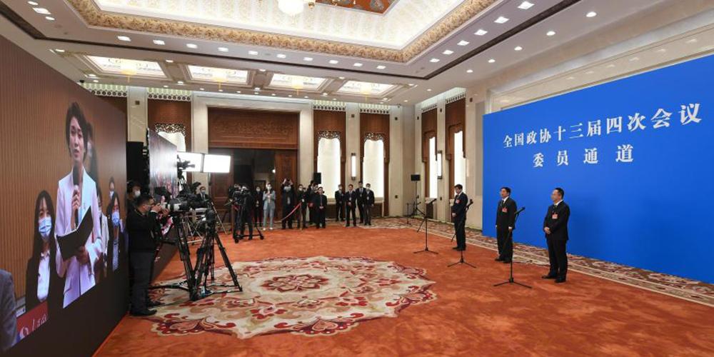 Membros da CCPPC recebem entrevista antes da sessão anual