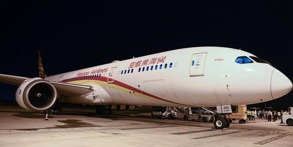 Hainan lança rota de carga aérea Haikou-Paris