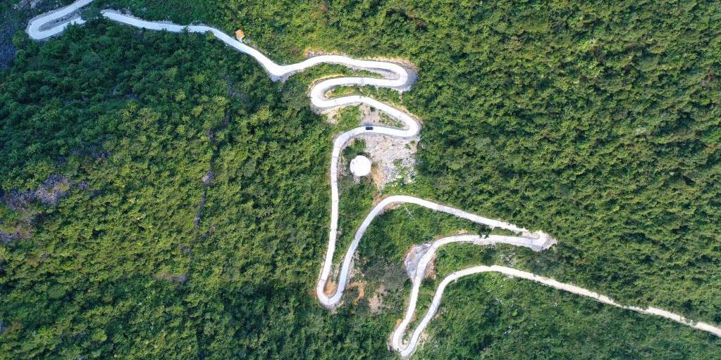 Guangxi promove construção e melhoria da rede de estradas rurais