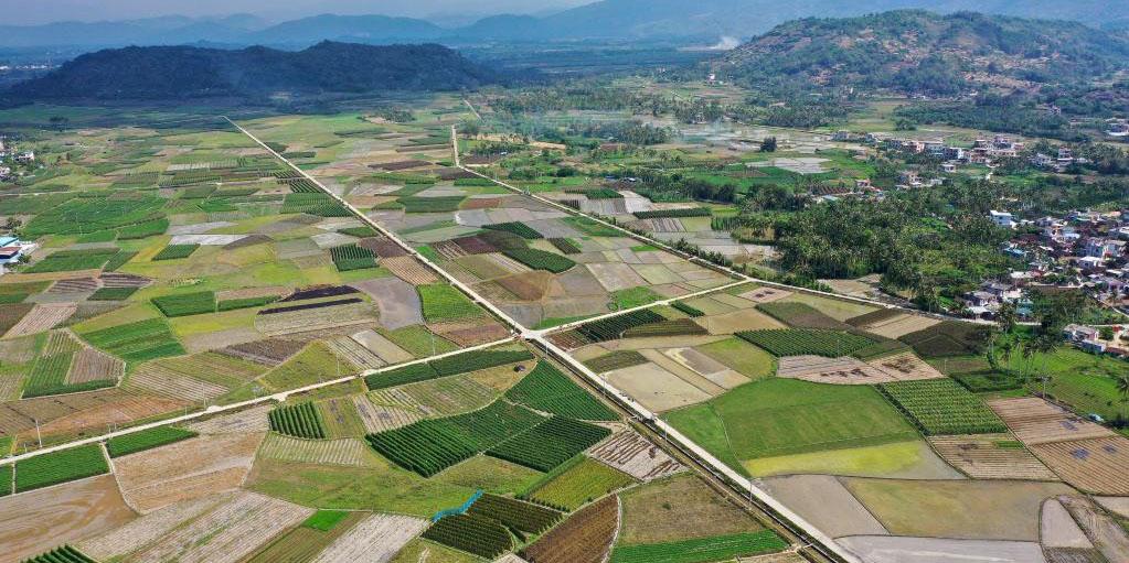 Fotos: base agrícola em Hainan, no sul da China